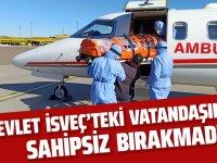 Türkiye, Gülüşken ve ailesi için ambulans uçak gönderildi.