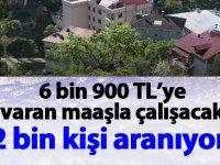 6 Bin 900 TL Maaşla 2 Bin Taşeron İşçi Aranıyor!