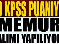 50 KPSS  ile Memur alımı (VHKİ)