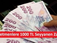 Tüm Öğretmenlere 1000 TL Seyyanen Zam!
