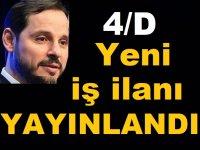 Türksat Yayınladığı ilanla 4/D Kamu Taşeron işçi iş ilanı verdi