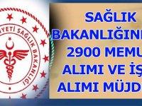 Sağlık Bakanlığından 2900 memur alımı ve 4/D kamu Taşeron işçi alımı Açıklaması