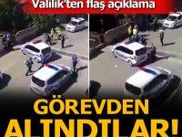 Tekirdağ Valiliği'nden flaş açıklama! Aşırı güç kullanan polisler açığa alındı