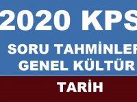 2020 KPSS Soru Tahminleri