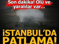 İstanbul'da patlama: Ölü ve yaralılar var
