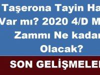 2020 4/D Maaş Zammı Ne kadar Olacak? Taşerona Tayin Hakkı Yüzdelik Dilim Son Dakika