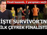 İşte 'Survivor 2020'nin ilk çeyrek finalisti