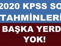 KPSS 2020 Haziran Güncel Bilgiler!