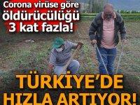 Türkiye'de hızla artıyor...