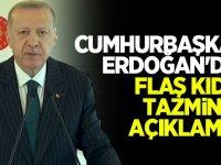 Erdoğan'dan flaş kıdem tazminatı açıklaması