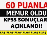 60 KPSS Puanıyla Devlet memuru oldu