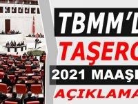 Kadroya geçen Taşeron 4/D işçilere 2021 Maaş Zammı TBMM'de