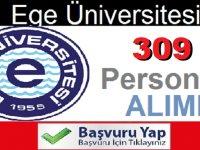 Ege Üniversitesi sözleşmeli 309 sağlık personeli ilanı değiştirildi!