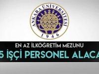 Ankara Üniversitesi Daimi 4/D Sürekli 315 İşçi Alımı Yapacaktır