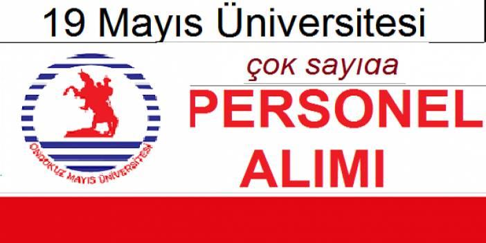 Ondokuz Mayıs Üniversitesi 95 Daimi Sürekli Sağlık Personeli Alımı Yapacaktır