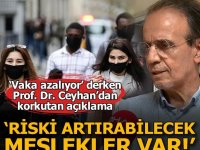 Prof. Dr. Ceyhan açıkladı! 'Vakalardaki azalışın durmasında..