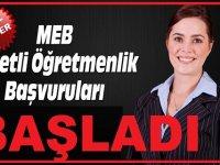 MEB 5 Bin Ücretli Öğretmen Alımı Atama Takvimi Yayımlandı