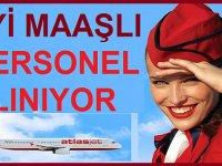 Atlasjet Havacılık Ekip Tahsis Memuru alıyor