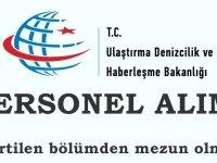 Ulaştırma ve Altyapı Bakanlığı Müdürlüğü ilkokul Mezunu Kadrolu İşçi Alım ilanı