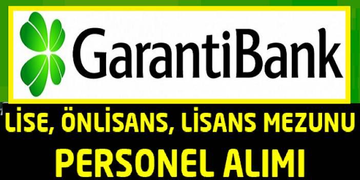 Garanti Bankası İş İlanları 8 Aralık 2018