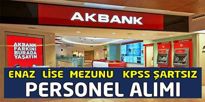 Akbank Türkiye Geneli Çok Sayıda Engelli ve Gişe Memuru ,Çağrı merkezi personeli alıyor