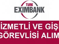 Türkiye İhracat Kredi Bankası Personel Alımı 2017