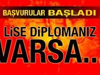 Ankara Müzik ve Güzel Sanatlar Üniversitesi Enaz lise mezunu Kamu Personeli Alımı