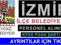 İzmir Beydağ Belediyesi Hasta Bakım Teknikeri, Büro işçisi,Beden işçisi alım ilanı