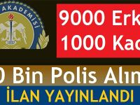 EGM, 10 Bin Polis Memuru Alımı Yapacak kılavuz yayınlandı!
