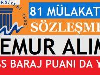 Mersin Üniversitesi En Az Lise Mezunu 81 Kamu Personeli Alımı 2017