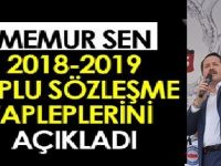 MEMUR SEN 2018 TOPLU SÖZLEŞME TALEPLERİ