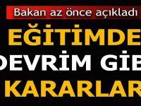 Türkiye'deki zorunlu eğitimi 13 yıla çıkaracağız