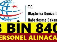 Ulaştırma Bakanlığı 3 Bin 840 Memur Kamu Personeli Alımı