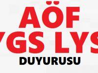 Atatürk Üniversitesi Açıköğretim Fakültesi DUYURULAR 2018