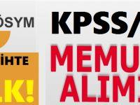 KPSS-2009/6: tercih işlemleri