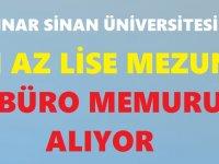 Ankara Güzel Sanatlar Üniversitesi Haziran iş ilanları 2020