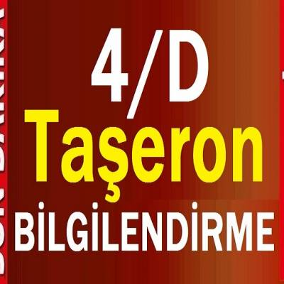 4D Taşeron işçileri SON DAKİKA